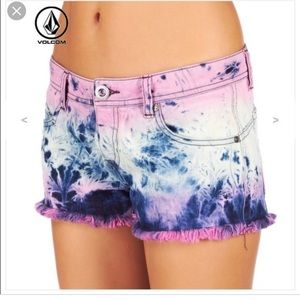 Volcom Tie Dye High Voltage Cut Off Short Fit 1/25